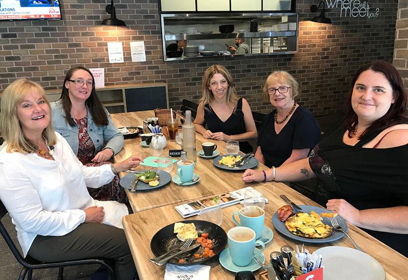 Adelaide Writers' Week breakfast