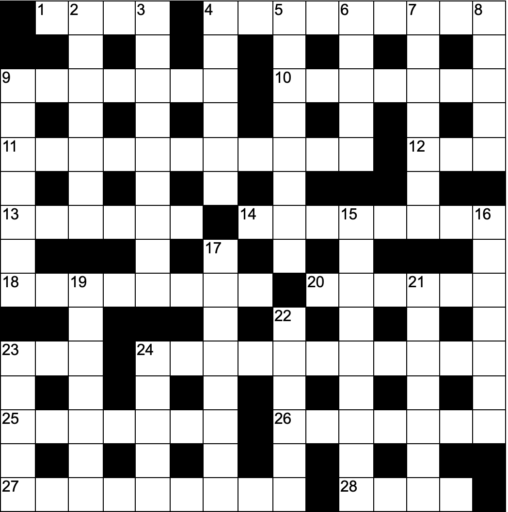 Cryptic crossword No.8