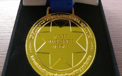 The Janet Mackenzie Medal – 2022 nominations are now open